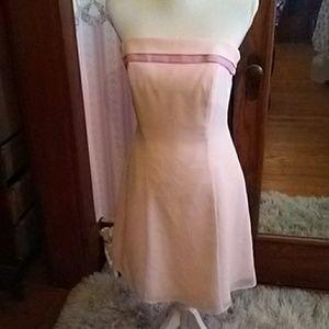Spring pink dress